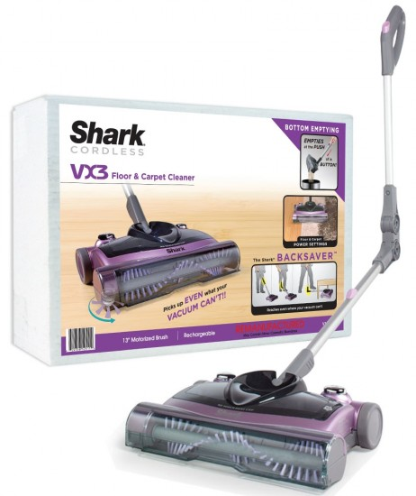 Shark Introduces Cordless Vx3 Sweeper Vacuum Geek